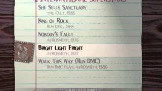 Guitar Hero:Aerosmith Song List
