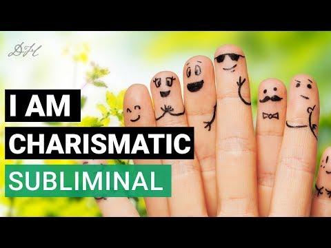 Create Charisma Subliminal Affirmations - I Am Charismatic