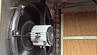 Cooling a Factory with an Evaporative Air Cooling System