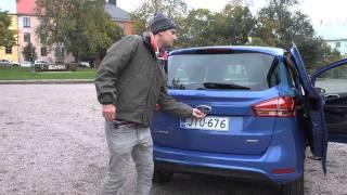 Testiss? Ford B-Max - sis?tilat (Teknari 18/2012)