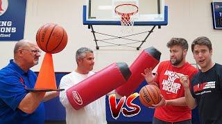 2v2 TRICK SHOT H.O.R.S.E. vs HIGH SCHOOL BASKETBALL COACHES!
