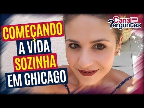 🔴[AO VIVO] Mulher de 31 anos começando a vida sozinha em Chicago, EUA ✔