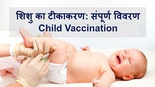 शिशु का टीकाकरण संपूर्ण विवरण | Child Vaccination | How to vaccinate your child 👶💉