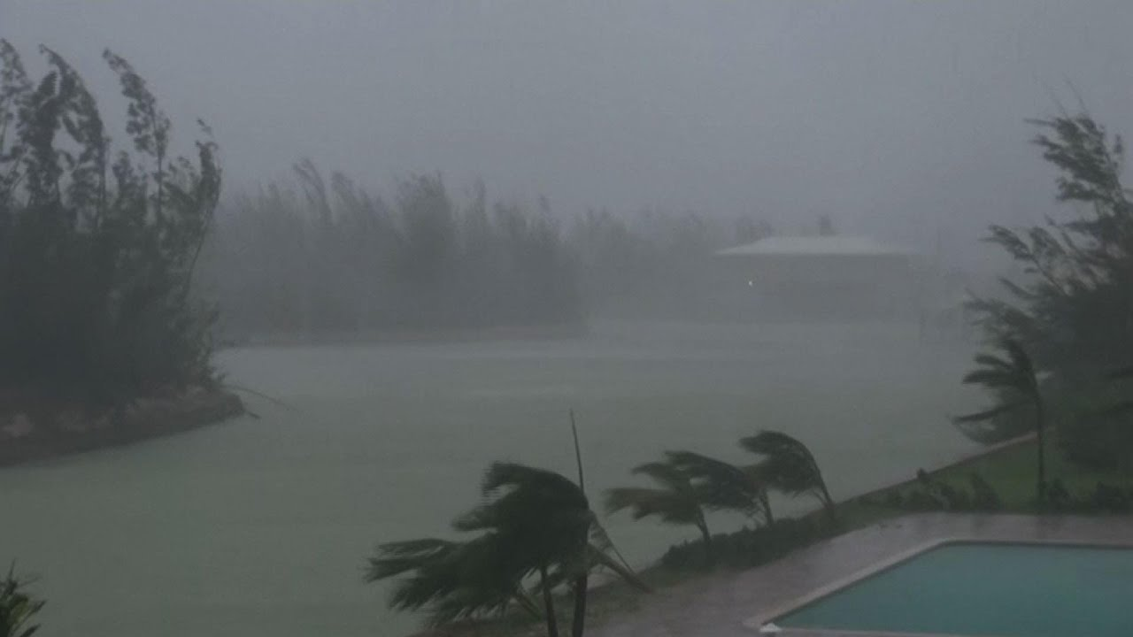 Hurricane Dorian remains halted in Bahamas
