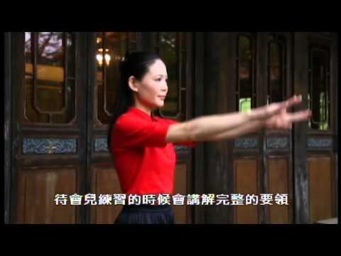 李鳳山師父的平甩功標準示範