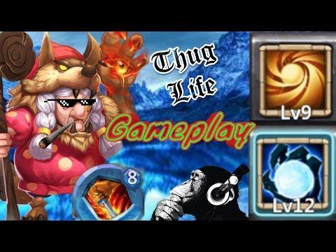 Ma Hatma | Solo Gameplay | Insane 5-10, HBM AC + AE | Castle Clash