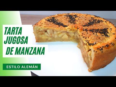 Si tienes unas manzanas, prepara esta deliciosa Tarta de Manzana al Estilo Alemán #97