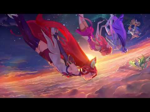 Burning Bright - Star Guardian Login Theme