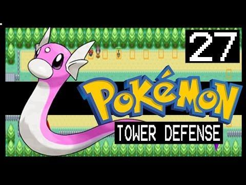 POKEMON TOWER DEFENSE WALKTHROUGH - ROUTE 15 + SHINY DRATINI