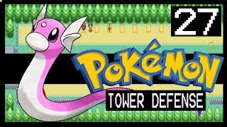 POKEMON TOWER DEFENSE WALKTHROUGH - ROUTE 15 + SHINY DRATINI