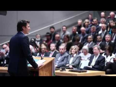 Justin Trudeau & the Liberal Party of Canada - We Are Here
