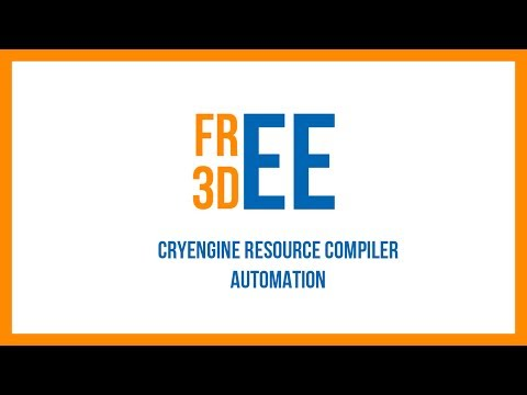 CryEngine - Automating the Resource Compiler