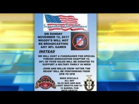 NJ bar boycotts NFL, holds fundraiser for veterans instead