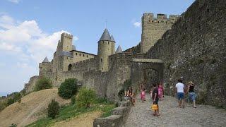 Camping La Cité and Carcassonne (France)