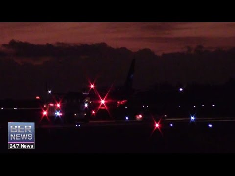 American Airlines 974 Diverts To Bermuda, December 3 2014