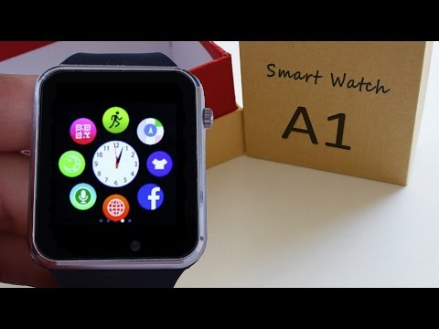 A1 Smartwatch 10💲| Camera 0.2 Mpx | Bluetooth 3.0 | Micro SIM 📦  REVIEW