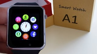 A1 smartwatch 10????| Camera 0.2 Mpx | Bluetooth 3.0 | micro SIM ????  REVIEW