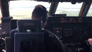 C-5M Landing at Kelly Field