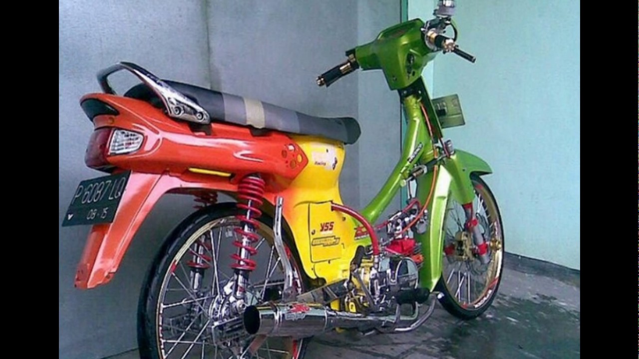 Modifikasi Motor Honda Grand Thailook Terkeren