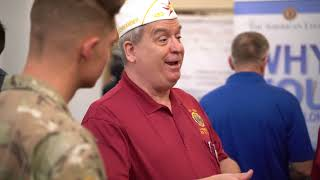 American Legion raises awareness at career fair