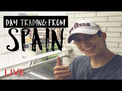 Live Trading | Day Trading Penny Stocks From San Sebastian, Spain