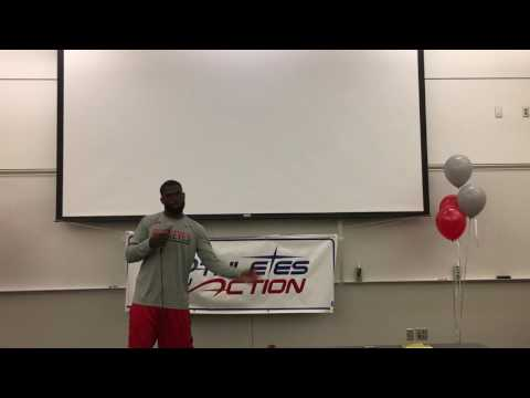 J.T. Barrett (Football) Testimony Athletes in Action Ohio State 8/24/2016