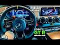 2020 MERCEDES AMG GT R Coupé Facelift BRUTAL V8 Full Review Interior Infotainment