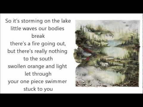 Bon Iver- Calgary w/Lyrics