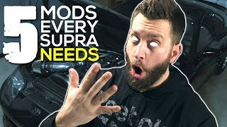 Top 5 Mods Every Turbo MKIV Toyota Supra Needs