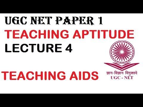 UGC NET Teaching Aptitude   Teaching Aids   Lecture 4