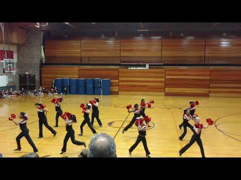 Clinton Rosette Middle School Pom's Competition 7th-8th Grade Dec 16, 2017