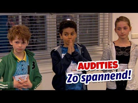 HET IS ZO SPANNEND! (Vlog 51 - Audities 2017) - Kinderen voor Kinderen