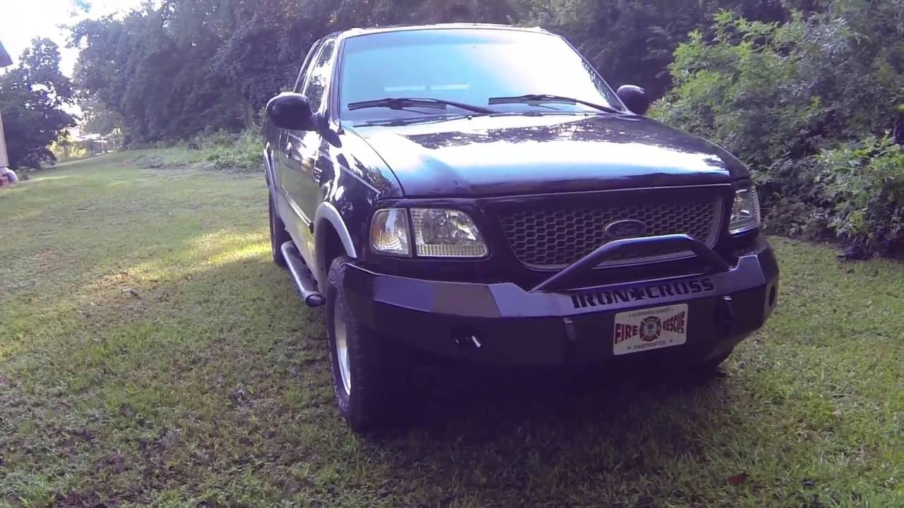 Ford F150 Iron Cross Automotive HD front bumper install