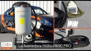 Arenadora HK90PRO, maquina de chorro de arena