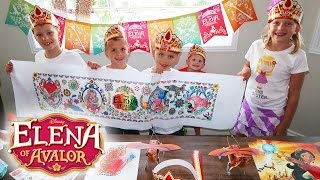 Repeat youtube video Elena of Avalor Family Craft Time