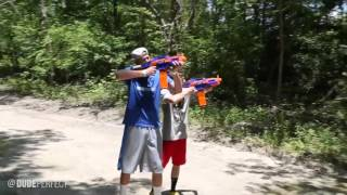 Nerf South Africa | Dude Perfect - Moving Targets