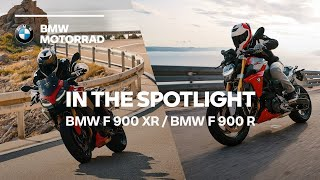 IN THE SPOTLIGHT: The new BMW F 900 R & BMW F 900 XR
