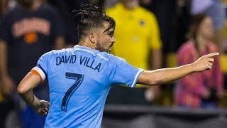 GOAL | David Villa levels the score | NYC vs. CLB