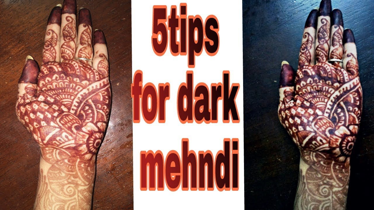 Hand Mehndi Tips : 5 tips to get darker mehndi color on hands at home indian secret