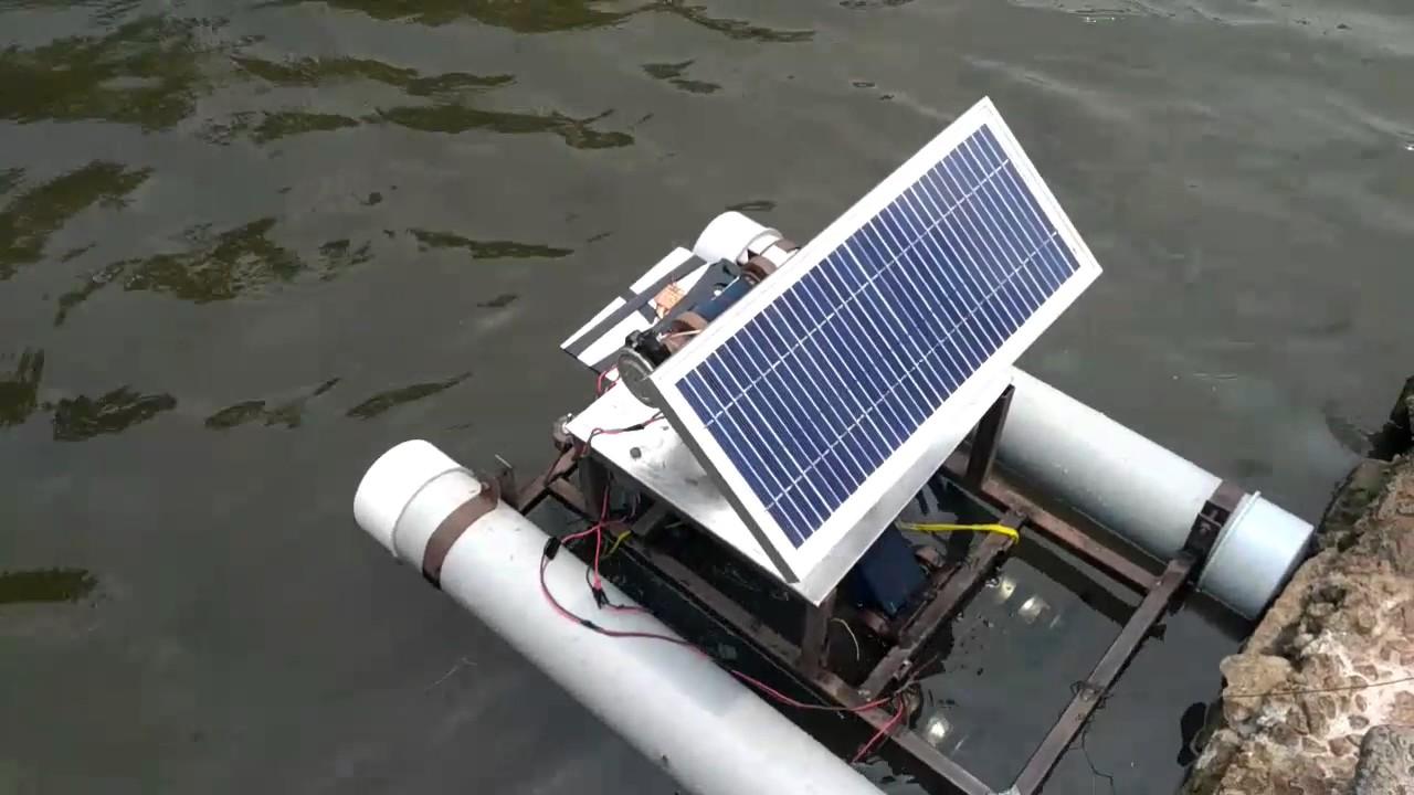 Download OIL SKIMMER ROBOT