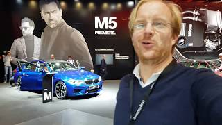 [4k] The VERY first impressions of the F90 BMW M5 at Frankfurt Salon by Gustav