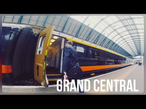 Grand Central Rail First Class, London Kings Cross - Sunderland