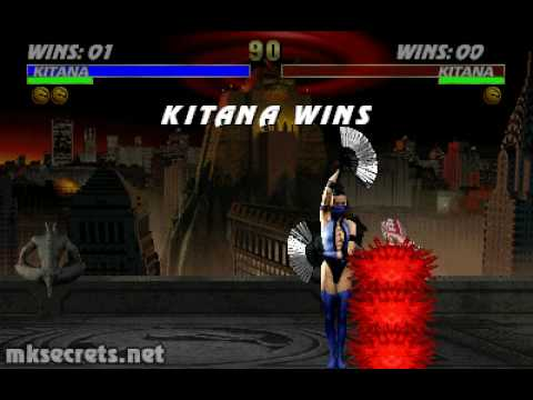 Video - Ultimate Mortal Kombat 3 - Fatality 1 - Kitana
