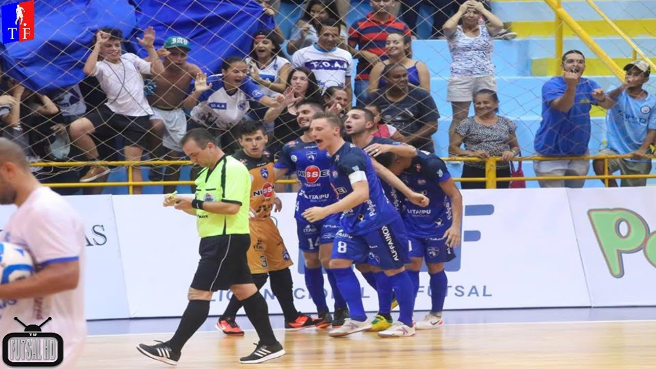 Jogo Completo Foz Cataratas 2 x 0 Minas - 2ª Semana Liga Nacional de Futsal  2018 (24 03 2018) fa152a0c85677
