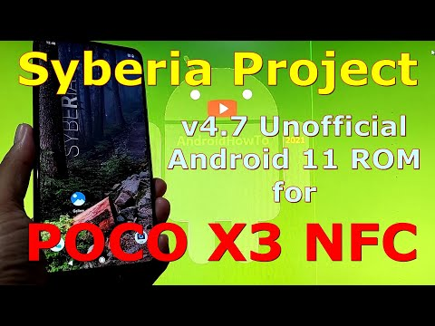 Syberia Project v4.7 for Poco X3 NFC (Surya) Android 11