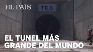 Finaliza la construcción del túnel de drenaje más grande del mundo