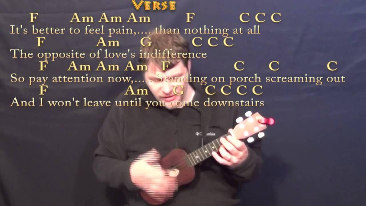 Stubborn Love Lumineers Ukulele Cover Lesson with Chords/Lyrics