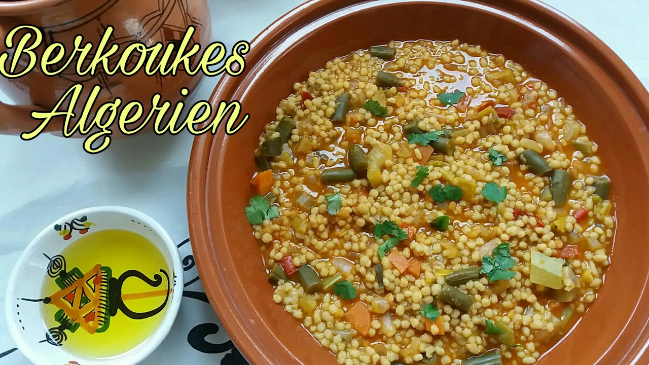 Berkoukes Kabyle Plombs Aux Legumes Youtube