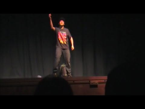 EPIC CHAIN HANG LOW FREESTYLE AT TALENT SHOW