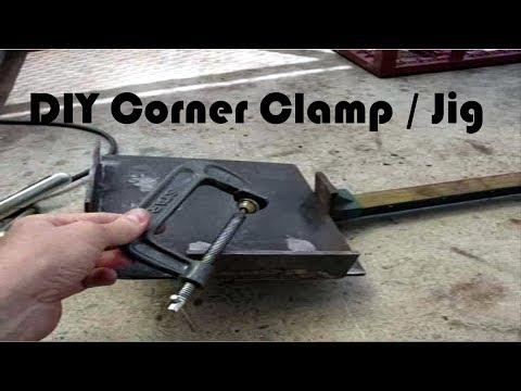 DIY Corner Clamp / Jig - Weekend Welding Warrior(Re-edit)